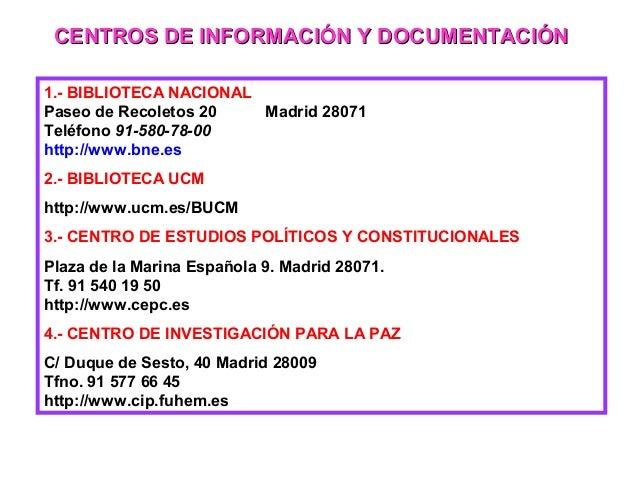 Metodos for Oficina relaciones internacionales ucm
