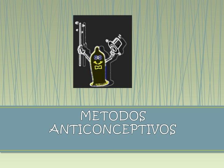 Los métodos anticonceptivos de barrera previenen elembarazo evitando que los espermatozoides entren al útero.Para que sean...