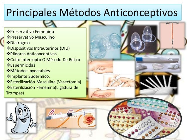 Métodos anticonceptivos Químicos & Hormonales