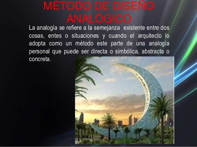 Metodos de dise o expo for Que es diseno en arquitectura