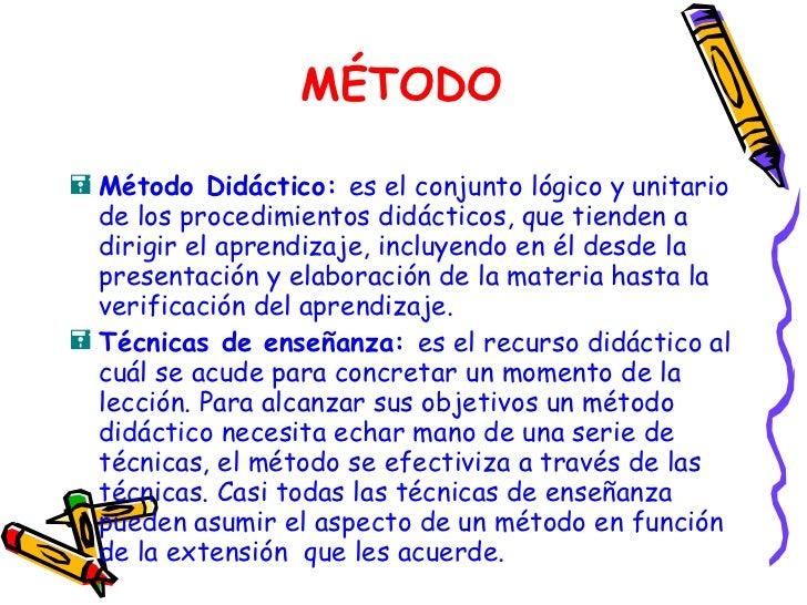 Metodos Didacticos
