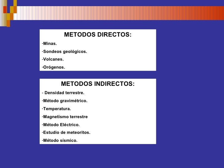 Metodos estudio de la Tierra Slide 2