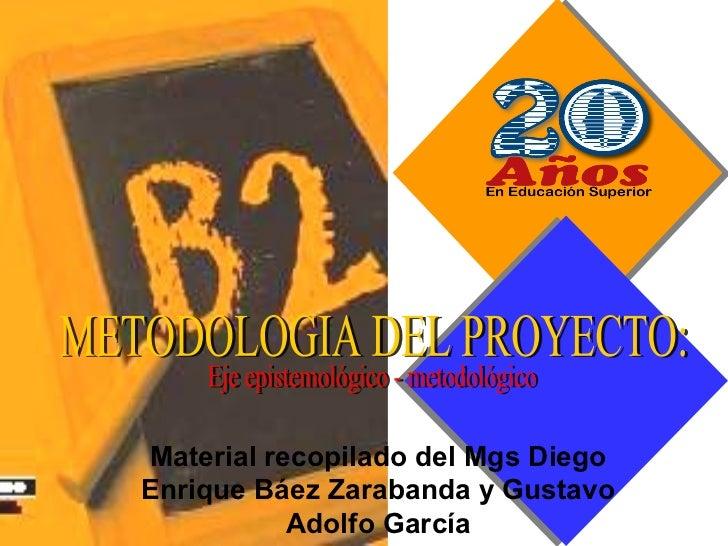 Material recopilado del Mgs DiegoEnrique Báez Zarabanda y Gustavo           Adolfo García
