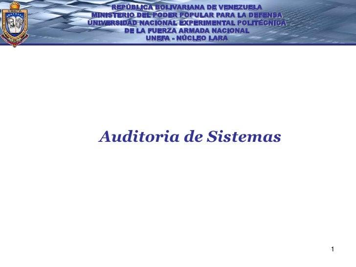 REPÚBLICA BOLIVARIANA DE VENEZUELA MINISTERIO DEL PODER POPULAR PARA LA DEFENSAUNIVERSIDAD NACIONAL EXPERIMENTAL POLITÉCNI...