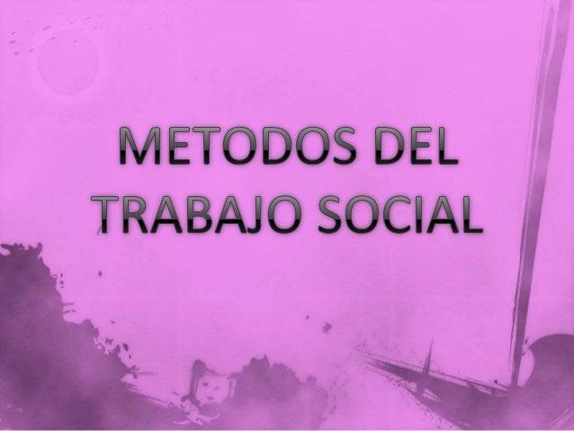  Mery Richmond  Vicente de paul  Federico ozanam  thomas chalmers  El método de caso es definido como proceso para ay...