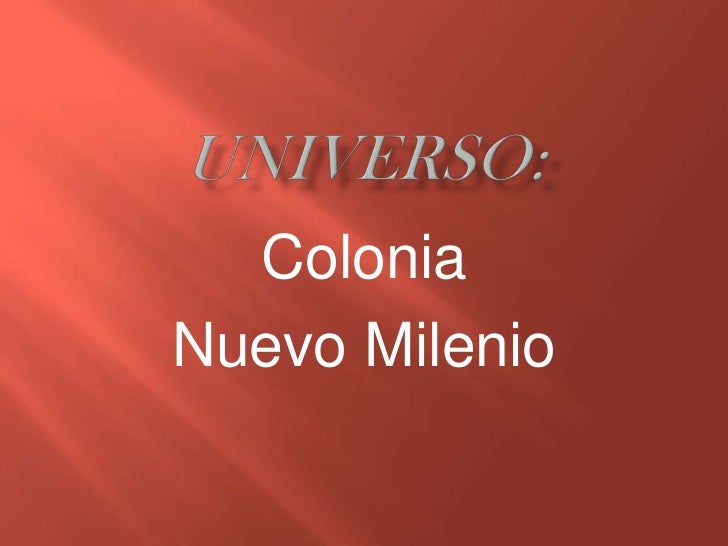 ColoniaNuevo Milenio
