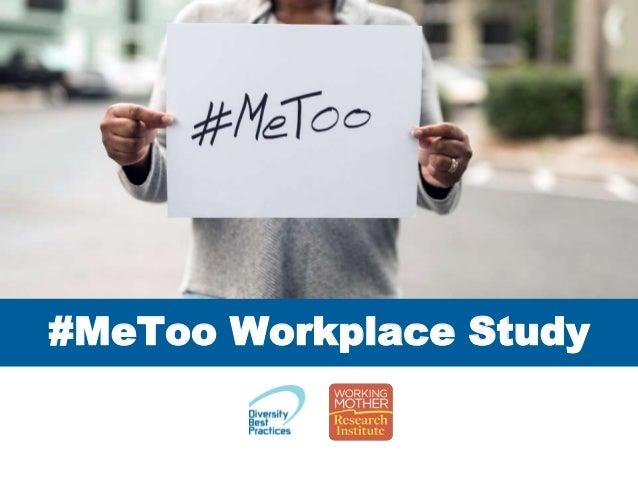 #MeToo Workplace Study