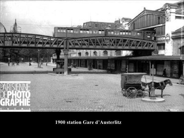 1900 station Gare d'Austerlitz