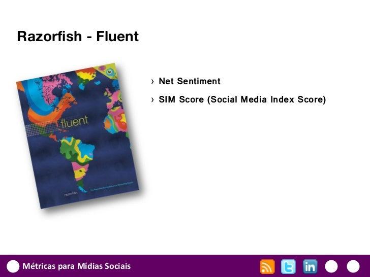 Razorfish - Fluent                               › Net Sentiment                               › SIM Score (Social Media I...