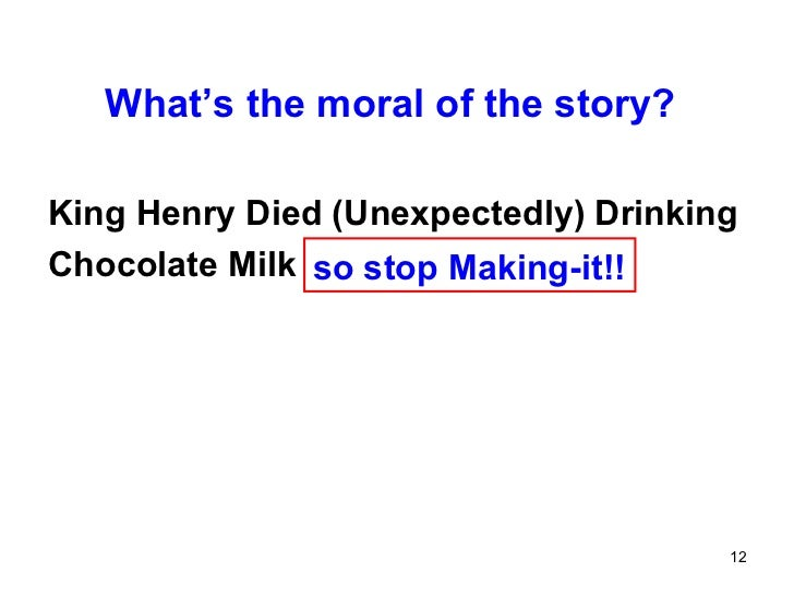 King Henry Died Unexpectedly Drinking Chocolate Milk Saying Video