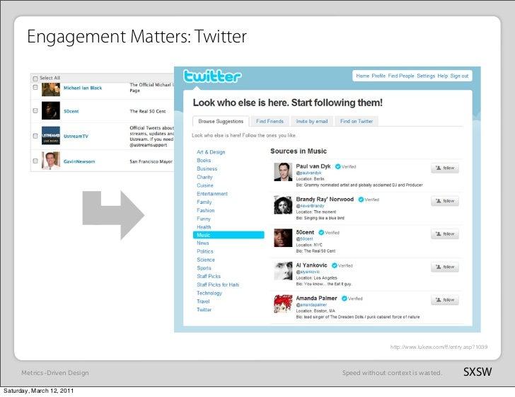 Engagement Matters: Twitter                                                     http://www.lukew.com/ff/entry.asp?1039    ...