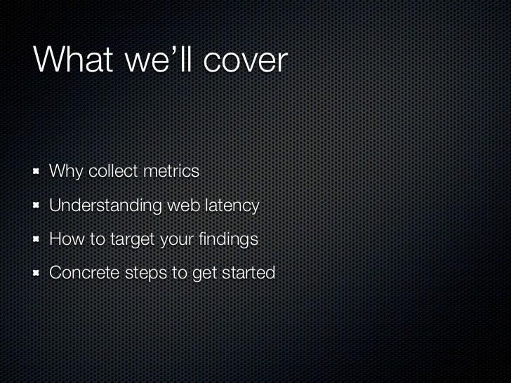 Metrics 101 Slide 3