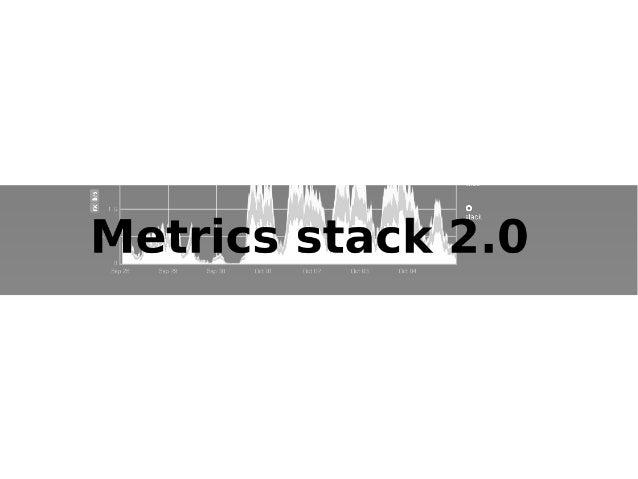Metrics stack 2.0 Slide 1