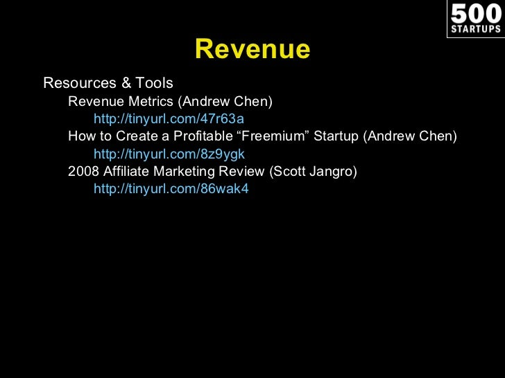 revenue resources  u0026 tools revenue