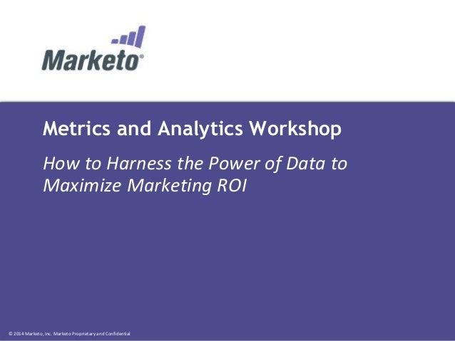 Metrics and Analytics Clinic