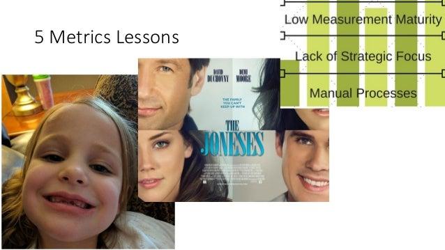5 Metrics Lessons