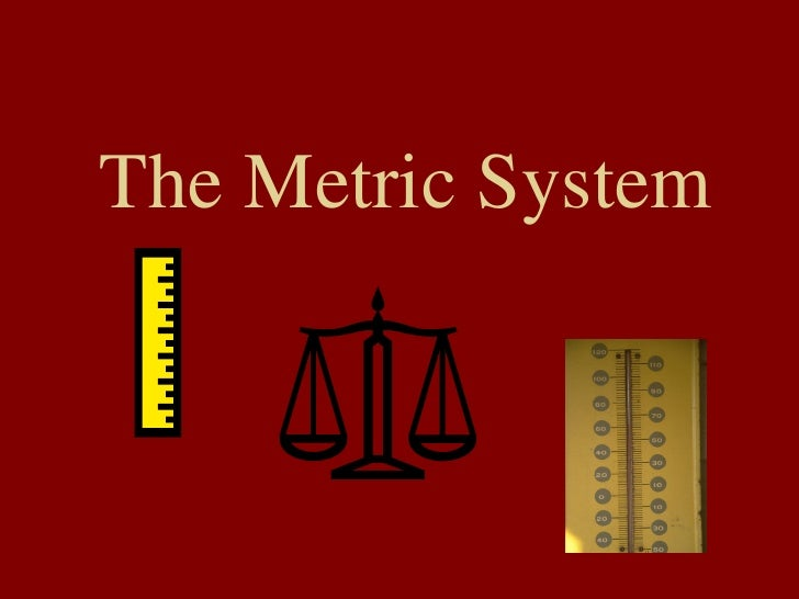 THE UNITED STATES AND THE METRIC SYSTEM - NIST