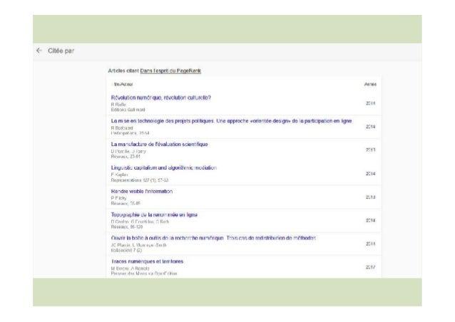 Comment ça marche ? Trouver et agréger les traces d'usage Identifiants Digital object identifier (DOI) ISBN • PMID • arXiv...