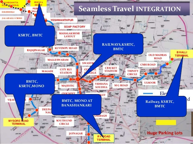 bengaluru metro project The objective of the project is to provide efficient and high-capacity north-south connectivity through the center of bangalore by expanding the city's metro system.