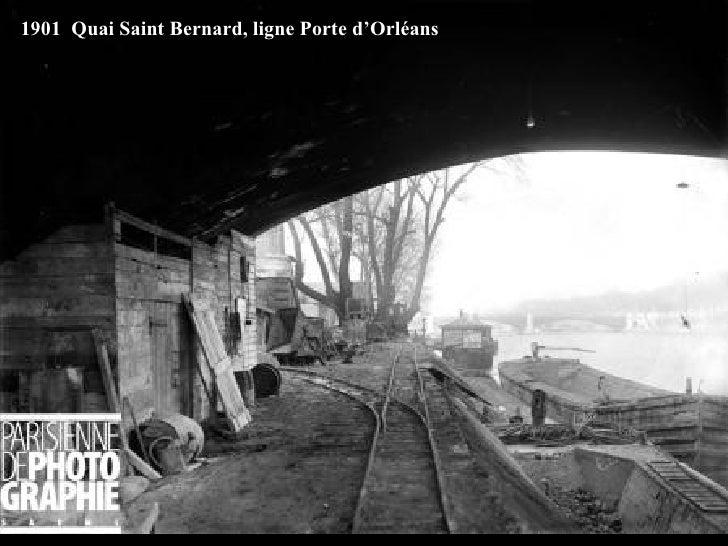 1901  Quai Saint Bernard, ligne Porte d'Orléans