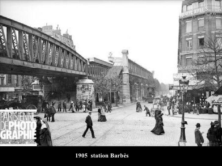 1905  station Barbès