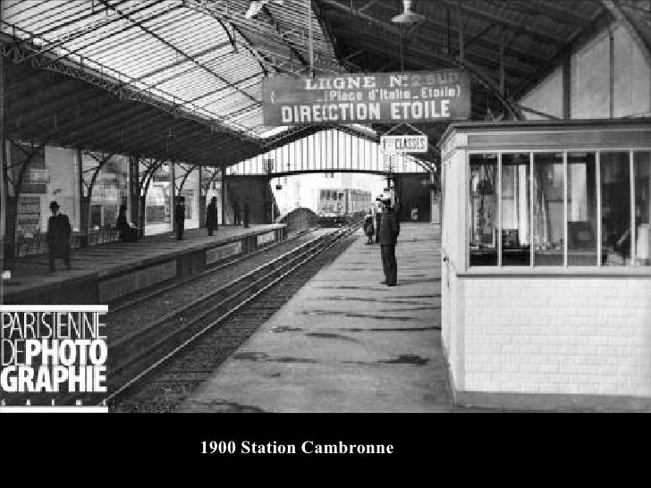 1900 Station Cambronne