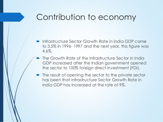 an analysis of the growth of the gdp in indian economy in 1997 98 The classical and neo-classical economists' argument that international trade could be ah engine of economic growth indian economy to 97 1997-98 1998-99.