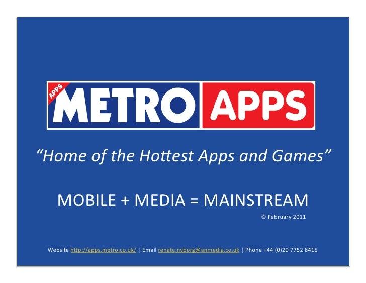 """HomeoftheHo*estAppsandGames""    MOBILE+MEDIA=MAINSTREAM                                                      ..."