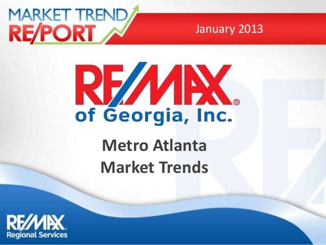 January 2013Metro AtlantaMarket Trends