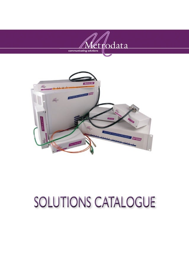 SOLUTIONS CATALOGUE