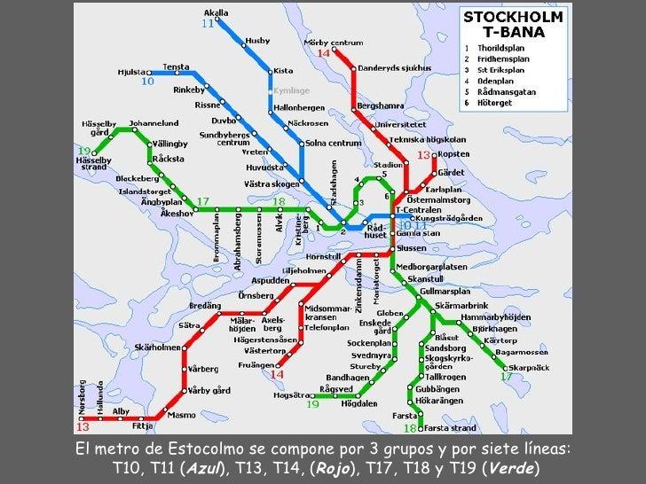 Metro de estocolmo Slide 2