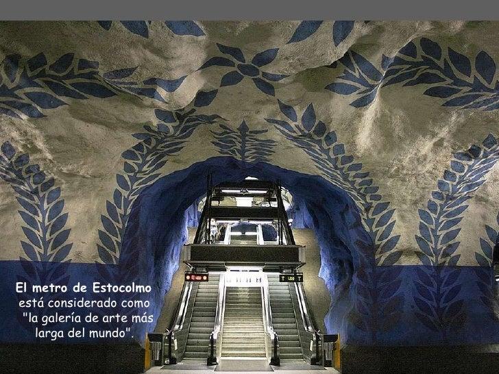 Metro de estocolmo Slide 3