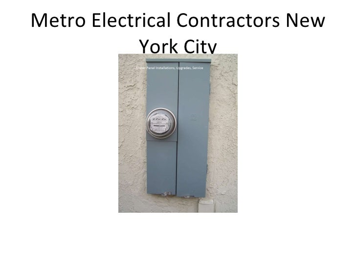 metro electrical contractors power point presentation new