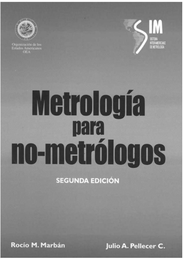 Metrologia para no metrologos