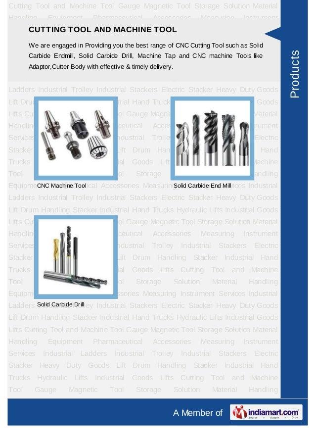 Metrology Corporation, Gujarat, Material Handling Equipment & Storage Cabinet Slide 3