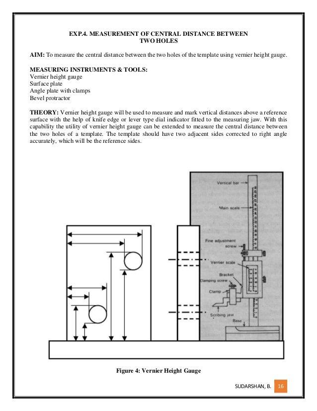 Measurements lab manual,mechanical engineering,mg university.