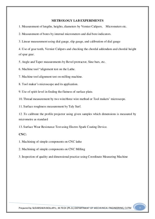 Metrology lab mannual 15 5-14 Slide 2