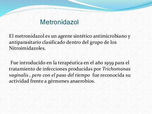 Para Que Sirve El Metronidazol Diyodohidroxiquinoleina