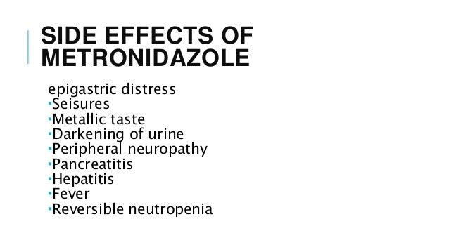 Trichomoniasis and metronidazole