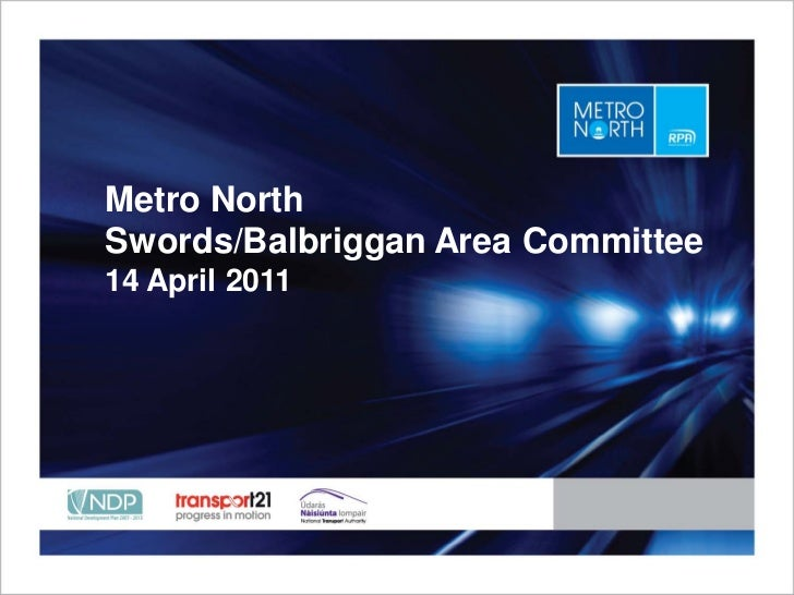 Metro NorthSwords/Balbriggan Area Committee14 April 2011       Place title here