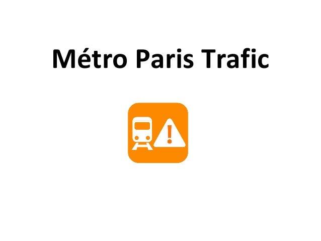 Métro Paris Trafic