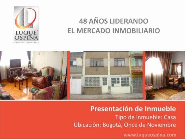 Ubicación del InmuebleBarrio: Once de NoviembreMetropolisAv. ChileCalle 80Av. NQSK 30Zona deUbicaciónde Inmueble