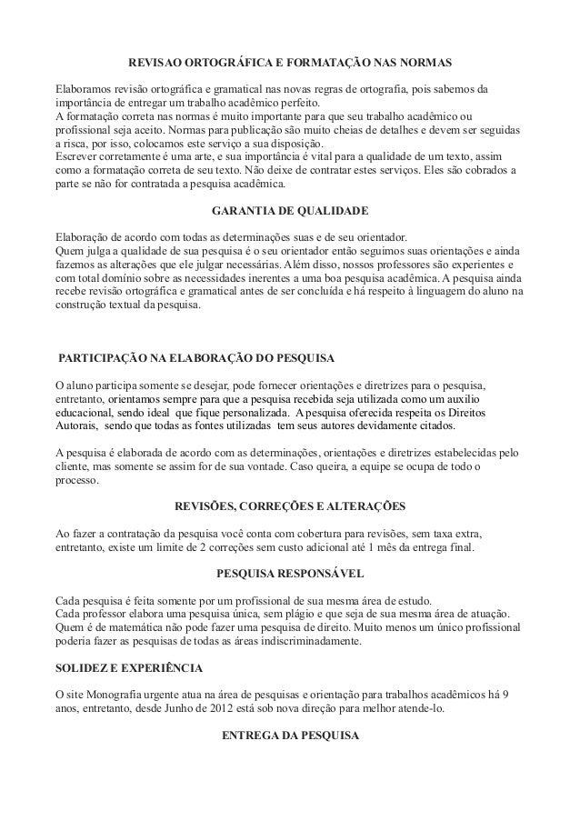 metropolitana belo horizonte tcc e monografia r$300,00entrega da pesquisa; 2