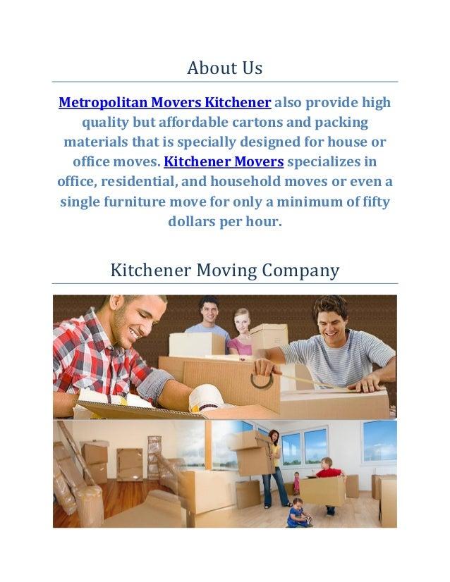 Metropolitan Movers Kitchener