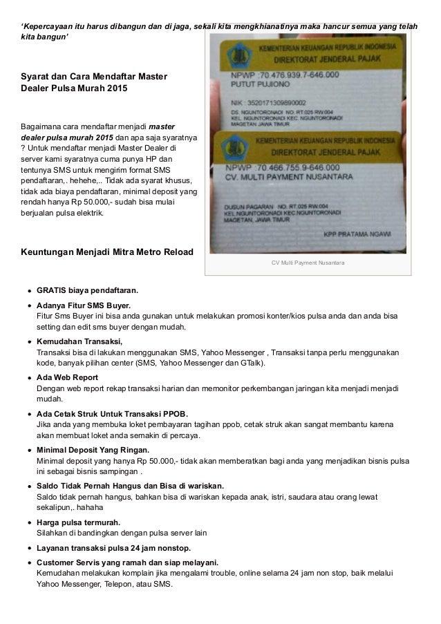 Image Result For Agen Pulsa Murah Di Magetan