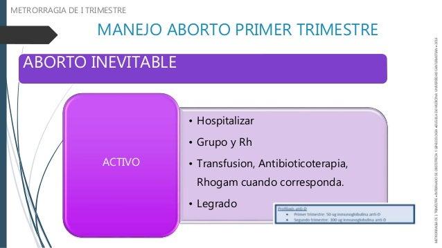 Metrorragia de primer trimestre aborto espontaneo - Aborto primer mes ...