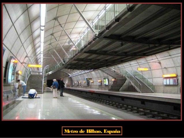 Metro de Dubai, Emiratos Arabes Unidos. El Metro es una red totalmente automatizada (sin maquinistas) que recorre la ciuda...
