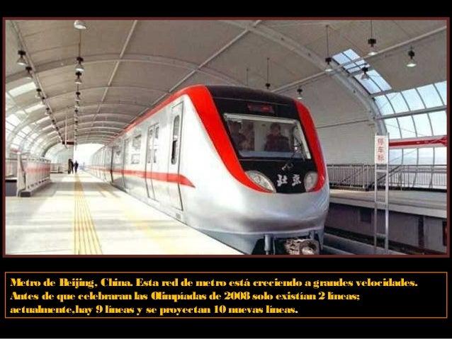 Metro de Dubai, Emiratos Arabes Unidos