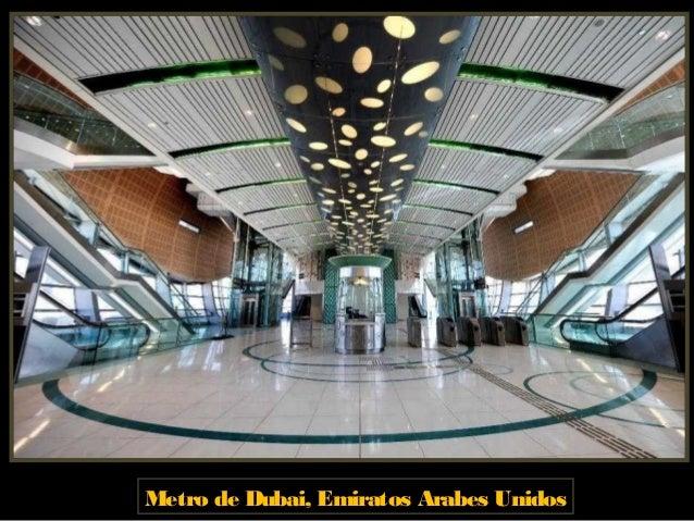 Metro de Dubái, Emiratos Árabes Unidos