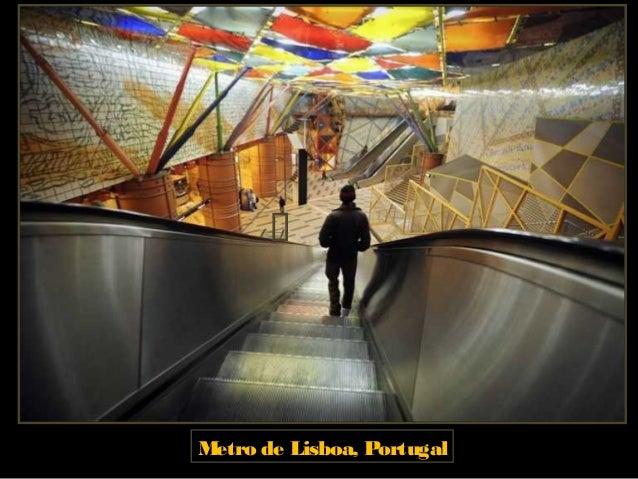 Metro de Lisboa, Portugal